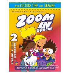 Учебник Zoom in 2 Students Book + workbook with CD-ROM with Culture Time for Ukraine Mitchell, H.Q. ISBN 9786180502121 купить...