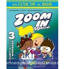 Учебник Zoom in 3 Students Book + workbook with CD-ROM with Culture Time for Ukraine Mitchell, H.Q. ISBN 9786180502138 купить...