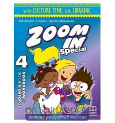 Учебник Zoom in 4 Students Book + workbook with CD-ROM with Culture Time for Ukraine Mitchell, H.Q. ISBN 9786180502145 купить...