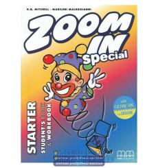 Учебник Zoom in Starter Students Book + workbook with CD-ROM with Culture Time for Ukraine Mitchell, H.Q. ISBN 9786180501575 ...