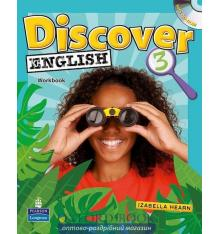 Рабочая тетрадь discover english 3 workbook with cd