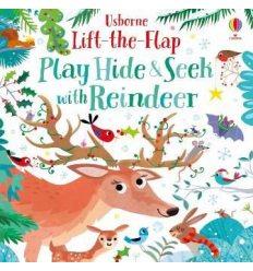 Книга с окошками Lift-the-Flap Play Hide and Seek with Reindeer ISBN 9781474981217