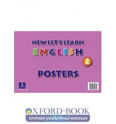 Книга Lets Learn English New 2 Poster Pack ISBN 9781405802840 купить Киев Украина