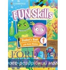 Учебник Fun Skills 1 Students Book with Home Booklet and Downloadable Audio Claire Medwell 9781108563697 купить Киев Украина