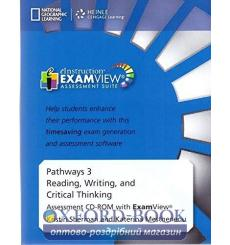 Pathways 3: Reading, Writing and Critical Thinking Assessment CD-ROM with ExamView 9781133317388 купить Киев Украина