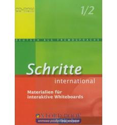 Ресурсы Schritte international 1+2 Materialien fur Interaktive Whiteboards 9783192418518 купить Киев Украина