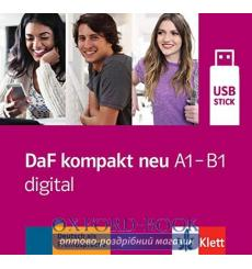 Книга DaF kompakt neu a1-B1 digital - USB-Stick 9783126763196 купить Киев Украина