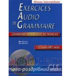 Книга Exercices Audio de Grammaire Livre + Mp3 CD 9782090337280 купить Киев Украина