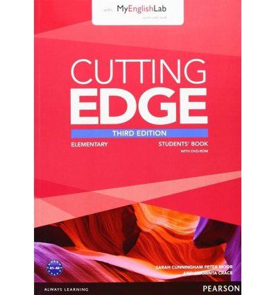 Учебник cutting edge elementary Student Book with DVD and myEnglishLab 9781447944034 купить Киев Украина