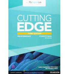 Cutting Edge Pre-intermediate Student Book with DVD and myEnglishLab