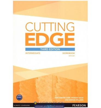 Тетрадь Cutting Edge Intermediate workbook with Key & Audio Download  3rd Edition 9781447906520 купить Киев Украина