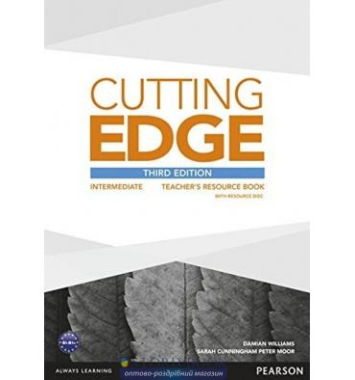 Cutting Edge Intermediate Teacher's Book with Teacher's Resources Disk Pack