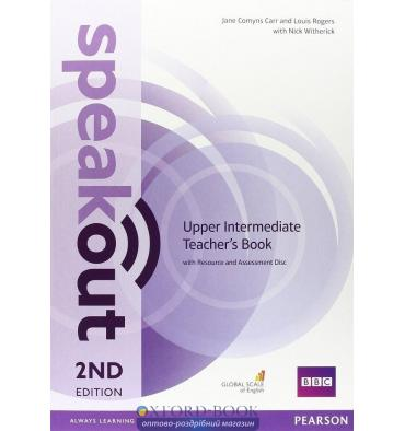 Speakout 2nd Edition Upper-Intermediate Teacher's Guide with Resource & Assessment Disc