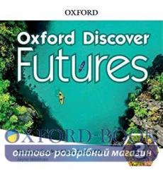 Диск Oxford Discover Futures 3 Class Audio CDs 9780194114387