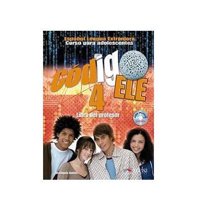 Codigo ELE 4 Libro del profesor + CD audio GRATUITA купить Киев Украина