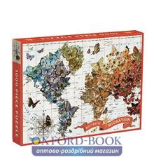 1000 Piece Puzzle: Wendy Gold Butterfly Migration 9780735340084