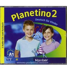 Planetino 2 Audio CDs (3) ISBN 9783193315786
