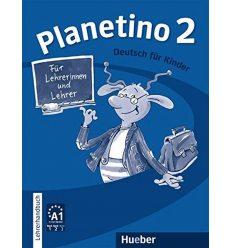 Книга для учителя Planetino 2 Lehrerhandbuch ISBN 9783193215789