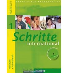 Учебник Schritte International 1 (A1/1) Kursbuch+AB ISBN 9783190018512