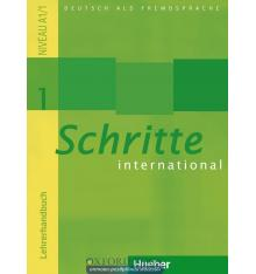 Книга для учителя Schritte International 1 (A1/1) Lehrerhandbuch ISBN 9783190218516