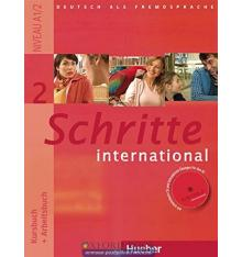 Учебник Schritte International 2 (A1/2) Kursbuch+AB ISBN 9783190018529