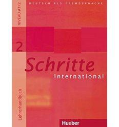 Книга для учителя Schritte International 2 (A1/2) Lehrerhandbuch ISBN 9783190218523