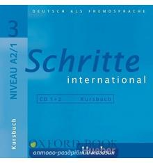 Schritte International 3 (A2/1) CDs ISBN 9783190418534