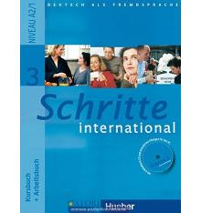 Учебник Schritte International 3 (A2/1) Kursbuch+AB ISBN 9783190018536