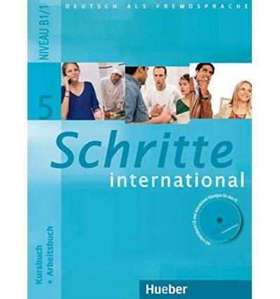 Schritte international 5 Kursbuch+Arbeitsbuch+CD zum Arbeitsbuch