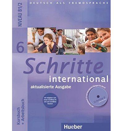 Schritte international 6 Kursbuch+Arbeitsbuch+CD zum Arbeitsbuch