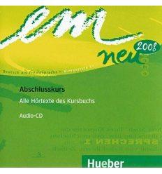 Рабочая тетрадь Em Neu 2008 3 Arbeitsbuch schlusskurs Audio CD ISBN 9783195316972