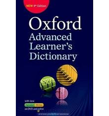 oxford learning dictionary advanced 9th Edition: Paperback with DVD