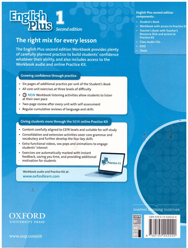 English plus oxford students book 1