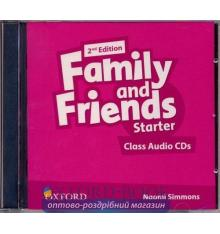 Диск Family and Friends 2nd Edition Starter Class Audio CD (2) ISBN 9780194808217