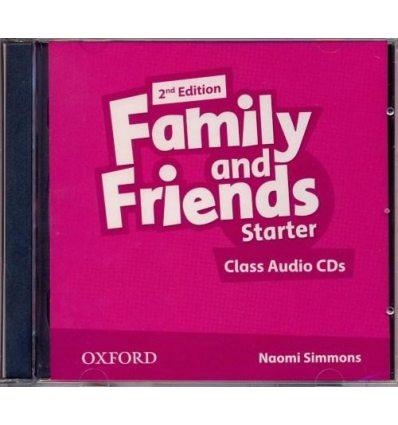 Диск Family and Friends Starter Class Audio CD (2) 2nd Edition 9780194808217 купить Киев