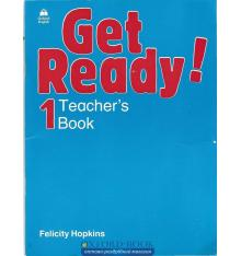 Книга для учителя Get Ready 1 teachers book ISBN 9780194339179
