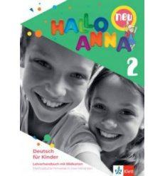 Hallo Anna neu 2 Lehrerhandbuch (Bildkarten Kopiervorlagen CD-Rom)