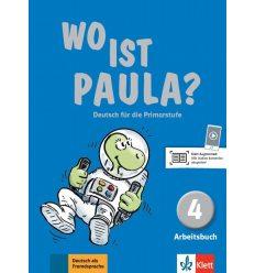 Wo ist Paula? Arbeitsbuch 4 + CD