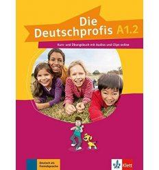 Die Deutschprofis A1.2 kursbuch und ubungsbuch + Online Hormaterial