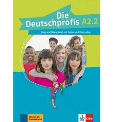 Die Deutschprofis A2.2 kursbuch und ubungsbuch + Online Hormaterial