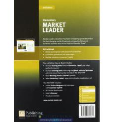 Market Leader 3rd Edition Elementary Coursebook with DVD-ROM and MyEnglishLab