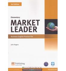 Market Leader 3rd Edition Elementary Practice File with Audio CD ISBN 9781408237069
