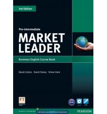 market leader pre intermediate 3rd edition coursebook with dvd