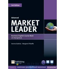 Market Leader 3rd Edition Advanced Coursebook with DVD-ROM and MyEnglishLab