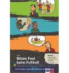 Boses Foul beim FuBball