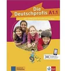 Die Deutschprofis A1.1 kursbuch und ubungsbuch + Online Hormaterial