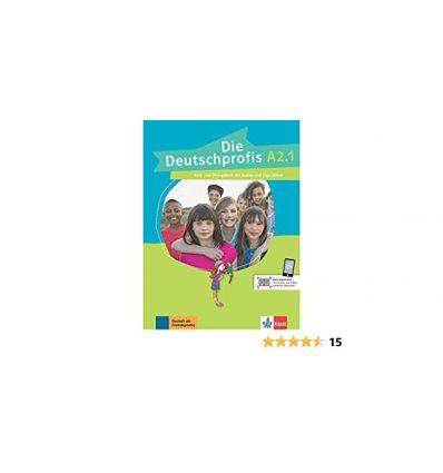 Die Deutschprofis A2.1 kursbuch und ubungsbuch + Online Hormaterial