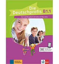 Die Deutschprofis B1.1 Kurs- und ubungsbuch + Audios und Clips online
