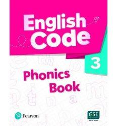 English Code British 3 Phonics Book 9781292322575