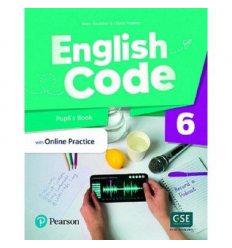 English Code British 6 Students book 9781292352350